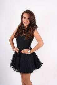 black skater dress joanna black lace v back skater dress clothing from dollywood