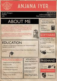 Architecture Student Resume Sample by The 4 Cardinal Rules Of Infographic Résumés Practical Real World