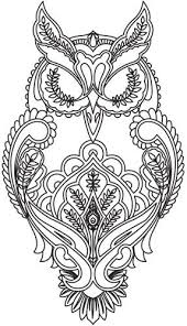 coloring page for adults owl owl free printable adult coloring pages pinteres
