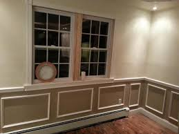interior astounding white base boards wainscot chair rail as