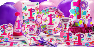 sweet girl 1st birthday party supplies 1st birthday party