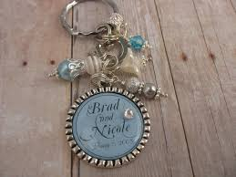 keychain favors say thank you shabby chic wedding favors