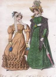 antique clothing fashion history 1825 1840