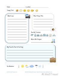 blank calendar template ks1 free kid travel journal printable travel journal for kids