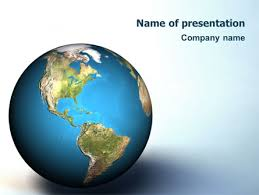 templates powerpoint earth animated earth powerpoint template backgrounds 02767