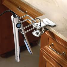 Hair Dryer And Flat Iron Holder Wall Mount bathroom bathroom hair dryer holder hair dryer caddy flat iron