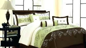 Olive Bedding Sets Olive Green Comforter Traditional Cotton 4 Comforter Set For