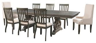 Table With 6 Chairs Stanford Dining Table With 6 Side Chairs 2 Parson Chairs And