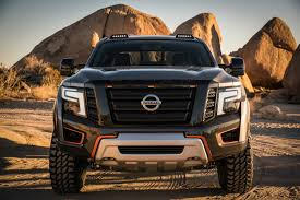 nissan titan vs dodge ram nissan u0027s titan warrior concept frightens lesser trucks in detroit