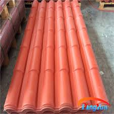 Spanish Style Roof Tiles Synthetic Terracotta Roof Tile Bamboo