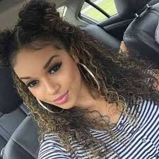 styles for mixed curly hair beautiful cute hairstyles for natural curly hair gallery styles