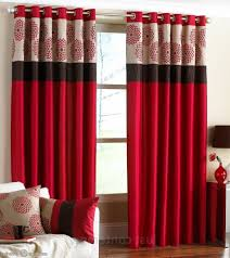 1000 ideas about red curtains on pinterest family room red window