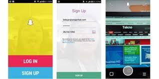 bikin video animasi snapchat tutorial cara menggunakan snapchat lenses yang baru berupa gambar