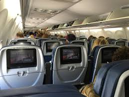 Delta Comfort Plus Seats Airplane Review Delta Economy 757 200 And Md 88 Travelupdate