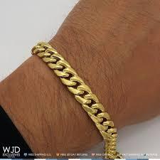 cuban link bracelet men images 10k yellow gold handmade 10mm wide miami cuban link men 39 s bracelet jpg