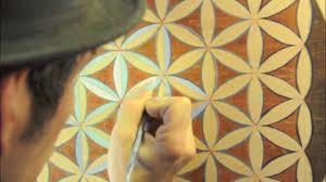 Life Of A Flower - flower of life sacred geometry making a flower of life mandala