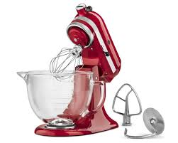 kitchenaid artisan series stand mixer with glass bowl walmart com
