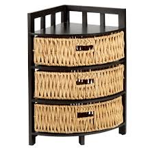 Corner Drawers 3 Basket Drawer 3 Tier Corner Storage Unit Christmas Tree Shops