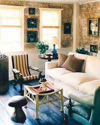 blue livingroom neutral rooms martha stewart