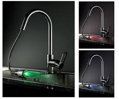 Led Bathroom Faucet Agualights Ldsk02 Contemporary Modern Design Led Waterfall Kitchen