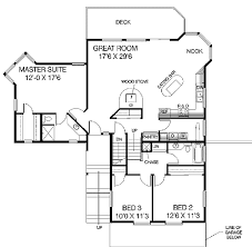 house plans for sloped lots contemporary sloping lot house plan 77133ld architectural