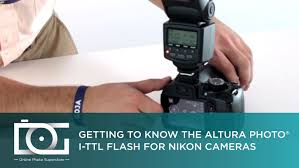 tutorial how to use the altura photo i ttl flash for nikon