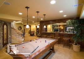 Games For Basement Rec Room by Home Billiard Room Ideas Basement Bar Family Entertaining Pool