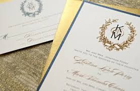 gold wedding invitations navy and gold wedding invitations reduxsquad