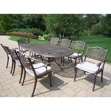 9 Pc Patio Dining Set - oakland living mississippi bar height dining set hayneedle