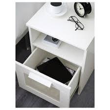 Ikea White Bedroom Side Tables Brimnes Bedside Table White 39x41 Cm Ikea