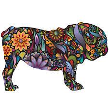 english bulldog dog decal wall sticker english bulldogs wall