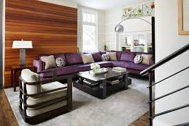 Purple Living Room Furniture 20 Engrossing Purple Sofa In The Living Room Home Design Lover