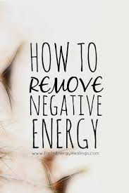 learn how to remove and release energy that is no longer serving