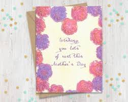 to be card thinking of you cards etsy