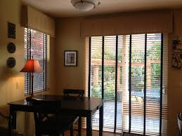 ideas for window treatments for sliding glass doors window