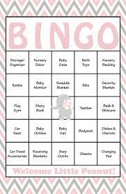 baby shower bingo unique design baby shower bingo absolutely smart best 25