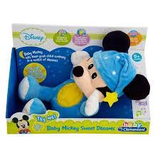 disney baby mickey mouse night glow u2013 browns toy emporium