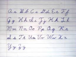 how to write i in cursive the of write and the cursive curse m king