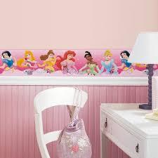 new pink disney princess border wallpaper wall decals girls new pink disney princess border wallpaper wall decals girls bedroom wall decor