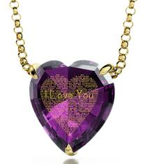 heart necklace gold plated images Gold plated heart necklace 24k gold inscribed i love you in 120 jpg