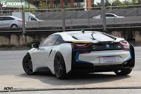 matte bmw i8 bmw i8 in crystal pearl white metallic sits on adv wheels bmwcoop