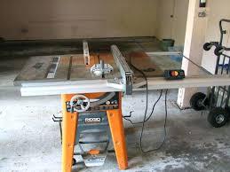 Ridgid Table Saw Review Ridgid Table Saw Ts3650 U2013 Thelt Co