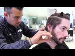 7 41 mens haircut tutorial 1920s inspired haircut u0026 3 in 1