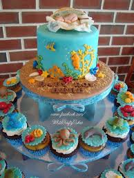 stunning under the sea cakes for baby shower 82 for your baby