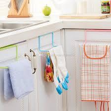 kitchen cabinet towel rail over door tea towel rack bar hanging holder rail organizer bathroom