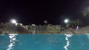 typhoon lagoon water park wave pool at night walt disney world
