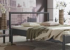 Schlafzimmer Mit Metallbett Metallbett Komplett Bett Bente Lattenrost Matratze Varianten