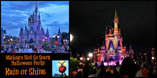 mickey s not so scary halloween party mickey u0027s halloween party rain or shine mickey u0027s not so scary in