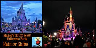 mickey u0027s halloween party rain or shine mickey u0027s not so scary in