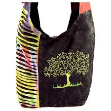 tree of embroidered hobo bag the hunger site